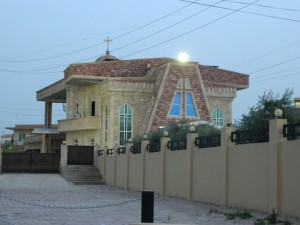 The Holy Apostolic Catholic Assyrian Church of the East Saint, John the Baptist, in Ankawa (Photo credit: Beth Kangas, 2013)