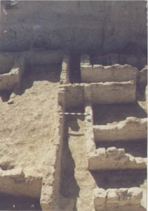 Image of a relatively well-preserved Ubaid building from Khirbet al-Akhwein 1 (Photo credit: Mark Altaweel)