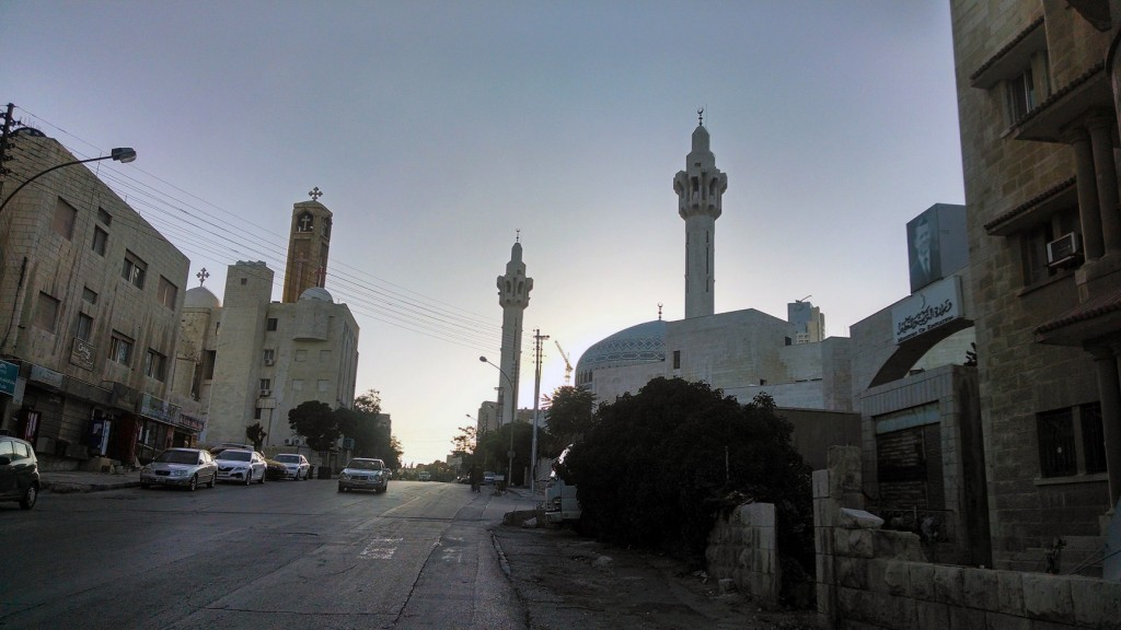 A neighborhood in downtown Amman (Photo credit: Louis Yako, 2014)